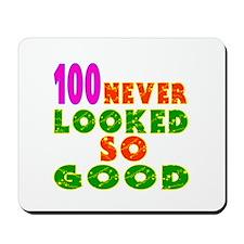 100 Birthday Designs Mousepad
