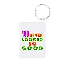 100 Birthday Designs Keychains