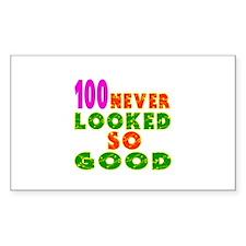 100 Birthday Designs Decal