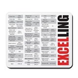 Excel Classic Mousepad