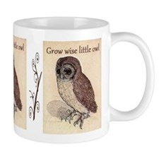 Grow Wise Little Owl Small Mug