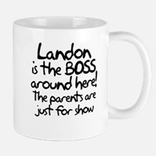 Landon is the Boss Mug