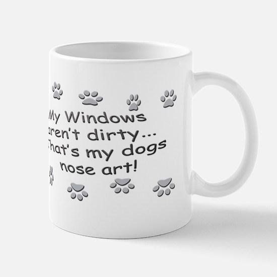 Funny Dog Nose Art Mug