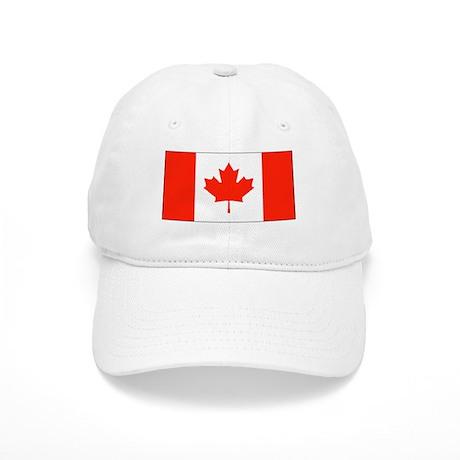 Canada Canadian Flag Baseball Hat Cap