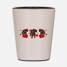 Dachshund Dachsie Puppies Shot Glass
