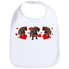 Dachshund Dachsie Puppies Bib