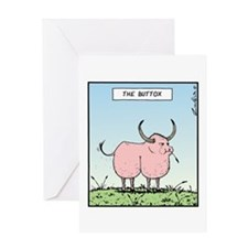 The Buttox Greeting Card