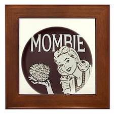 Mombie Framed Tile