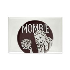 Mombie Rectangle Magnet