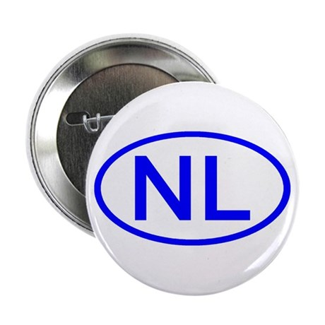 Netherlands - NL Oval Button