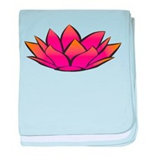 Lotus baby blanket