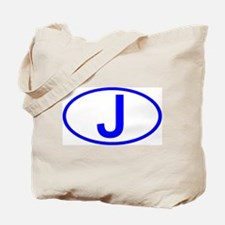 Japan - J Oval Tote Bag