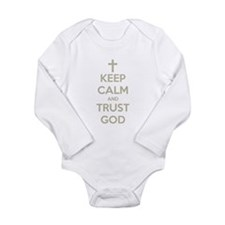 KEEP CALM AND TRUST GOD Body Suit