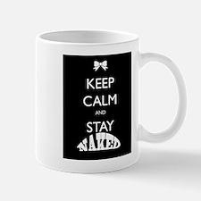 Keep calm and stay naked Mug