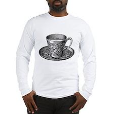 Victorian Teacup & Saucer #2 Long Sleeve T-Shirt