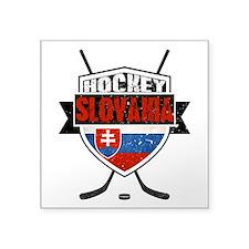 Hokej Slovensko Hockey Shield Sticker