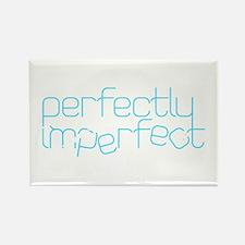 Perfectly Imperfect Aqua Rectangle Magnet