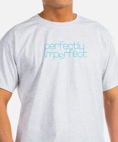 Perfectly Imperfect Aqua T-Shirt