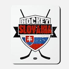 Hokej Slovensko Hockey Shield Mousepad