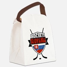 Hokej Slovensko Hockey Shield Canvas Lunch Bag