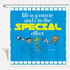 MOVIE - special effect Shower Curtain