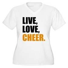 cheer Plus Size T-Shirt