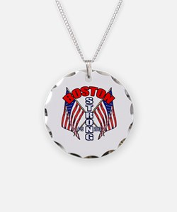 Boston Strong 4 15 Necklace