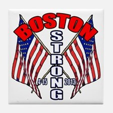 Boston Strong 4 15 Tile Coaster