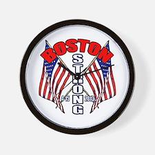 Boston Strong 4 15 Wall Clock
