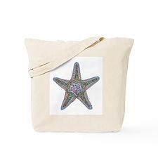 Bubbly Starfish Tote Bag