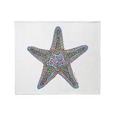 Bubbly Starfish Throw Blanket