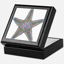 Bubbly Starfish Keepsake Box