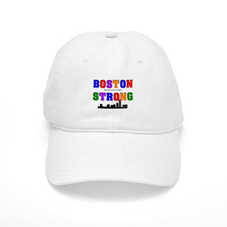 boston strong 3 Baseball Cap
