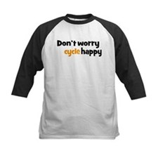 Don't worry cycle happy Baseball Jersey