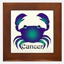 Whimsical Cancer Framed Tile