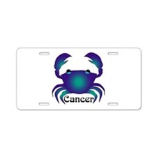 Whimsical Cancer Aluminum License Plate