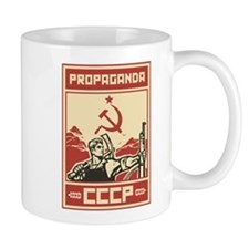 Soviet vintage Propaganda Small Mug