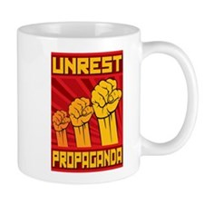 Unrest Strike Propaganda Mug