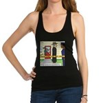 Open and Shut Case Racerback Tank Top