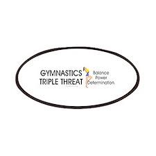 TOP Gymnastics Slogan Patch