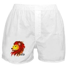 Whimsical Leo Boxer Shorts