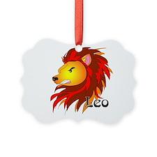 Whimsical Leo Ornament