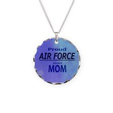 Proud AIR FORCE Mom Necklace