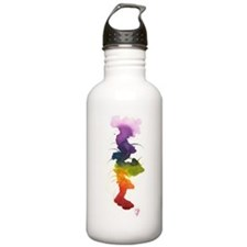 little chakra tree Water Bottle