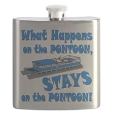 On The Pontoon Flask