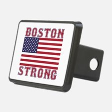 BOSTON STRONG U.S. Flag Hitch Cover