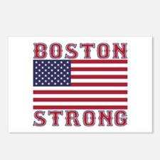 BOSTON STRONG U.S. Flag Postcards (Package of 8)