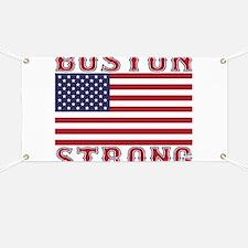 BOSTON STRONG U.S. Flag Banner