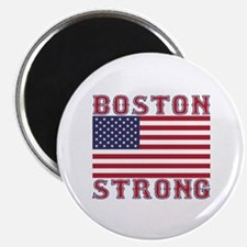 BOSTON STRONG U.S. Flag Magnet