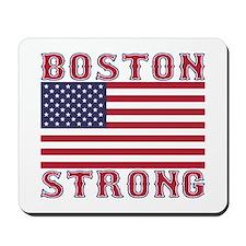 BOSTON STRONG U.S. Flag Mousepad